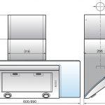 Вытяжка Elikor схема Белый Силвер Шторм 60-650-П3Л